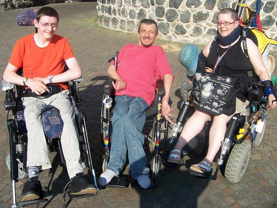 Gruppenfoto Vorstand queerhandicap e.V. 2010