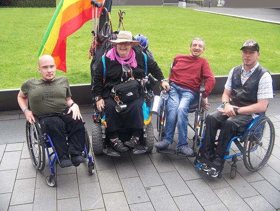 Gruppenfoto Vorstand queerhandicap e.V. 2012